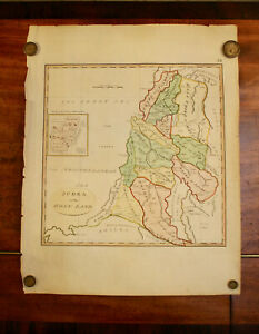 A Late C18th Map (Possibly D'Anville) 'Judea or the Holy Land'