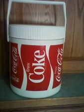 Hamilton-Skotch Vintage Plastic Coke Lunch Cooler (Used)