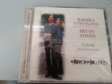 BARBRA STREISAND BRYAN ADAMS i finally found someone PROMO CD mirror has 2 faces
