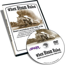 When Steam Ruled DVD - Steam Locomotives of 1940s & 50s Photographs Recordings