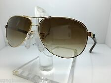 NEW RAYBAN RB8313 001/51 RB 8313 61MM GOLD/BROWN GRADIENT LENS
