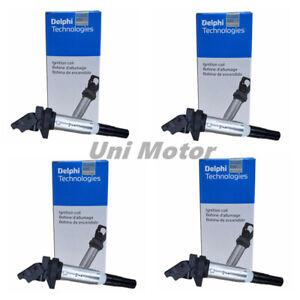 4 x Delphi Ignition Coils Original for BMW E46 E90 F30 328 320 520 12138616153
