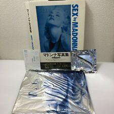 MADONNA SEX ART JAPAN PHOTO BOOK EDITION w/CD From Japan