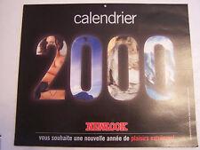 CALENDRIER EROTIQUE , SEXY , CHARME . NEWLOOK 2000 .TRES BON ETAT