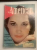 Vintage August 1940 The American Magazine Stories J. Edgar Hoover Sabotage