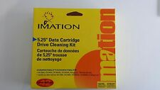 "IMATION 5.25"" Data Cartridge Drive Cleaning Kit Cod. 51111 43032"