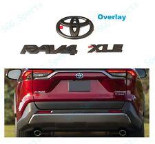 Standard, Carbon Style YUZHONGTIAN Car Accessories Outer Side Door Handles Trim Cover ABS 4PCS for Toyota RAV4 XA50 2019+