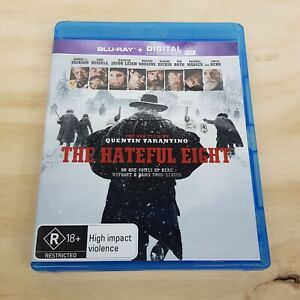 THE HATEFUL EIGHT (2015) Blu ray Inc Special Features (Tracked Post)