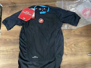 Castelli Procecco Undervest Base Layer Short Sleeve  Windproof Small new