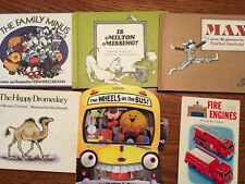 set of 6 Children's Books From the 70's and 80's