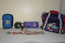 Figurines Mickey Minnie Disney vintage + bagagerie