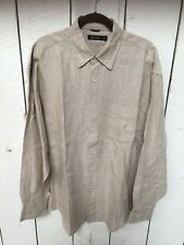 Nautica men's button front long sleeve shirt Size XL