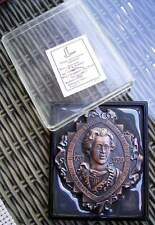 Medaille Russland von 1979 Architekt W. I. Baschenow im Originaletui  (N)