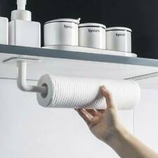 2pcs Wall Mount Toilet Paper Holder Kitchen Roll Rack Towel Tissue Organi`yu
