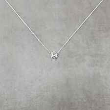 Mexican Skull Calavera Silver Plated Necklace in Gift Box Sugar Day Dead Bones