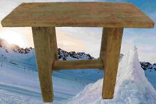 Holzbank TEAK H.45 L.56x25cm Wohnen Tisch Dekoration Möbel Sitzbänke & Hocker 2