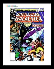 Jeff Aclin Battlestar Galactica #2 Rare Production Art Cover