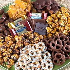 Chocolate Caramel Crunch Grand Gift Basket Variety Gift Mothers Day Basket Sweet