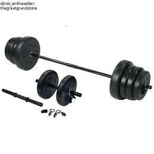 Weight Lifting Equipment Set Barbell Dumbbell Workout Gym Fitness Strength Home