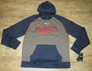 New England Patriots Fanatics Chiller Team Therma Hoodie Jacket size Men's Large