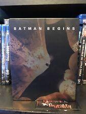 Batman Begins Blu-Ray Steel Book
