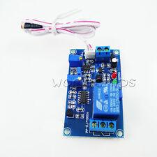 12V photoresistor relay module light detect sensor with timer car light control