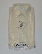 VTG 1980s UNUSED BURBERRY'S OF LONDON DRESS SHIRT! EGYPTIAN COTTON! NEW! 15 34