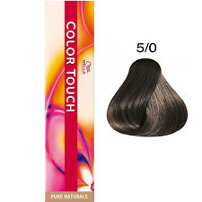 Wella Color Touch 5/0 Pure Naturals Light Brown 60ml