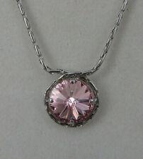 Anton Hübner Design Collier Pink Rubin Swarovski Elements (61621)