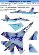 Foxbot Decals 1/32 SUKHOI Su-27UBM FLANKER Ukrainian Digital Camouflage NUMBERS