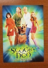 SCOOBY DOO INKWORKS MOVIE STORY CARDS 2002 PROMO CARD SD-1