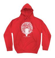 Crooks & Castles Greco Logo Hoodie Red Sweatshirt Mens