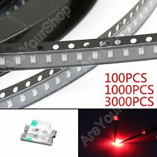 0805 SMD SMT LED Red Green Blue Yellow White Orange Purple 7Colours Light