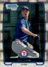 2012 Bowman Chrome Prospects X-Fractors #BCP114 WILL LAMB  Rangers
