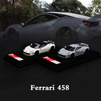 New 1:64 Ferrari 458 LB Performance Liberty Walk Resin Car Model Limited 999 pcs