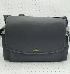 Coach ☆ BABY MESSENGER DIAPER BAG ~ BLACK ☆ NWT  $450  (99292)
