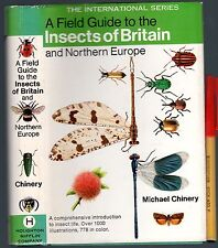 412 page Field Guide INSECTS of BRITAIN & Northern Europe EC+ HCDJkt Superb!
