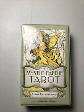 Mystic Faerie Tarot Deck Cards Linda Ravenscroft Fairy Fantasy 2015