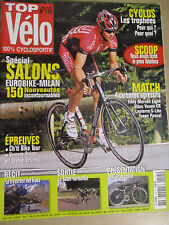TOP VELO N°115: OCTOBRE 2006: SPECIAL SALONS - MERCKX LIGHT - VITUS - LAPIERRE