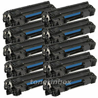 10pk Compatible CE285A 85A Toner For HP Laserjet Pro P1102 P1102W M1132 M1212nf