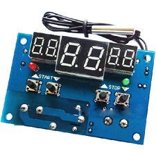 DC 12V Intelligent Digital LED Thermostat -9-99°C Temperature Controller Module