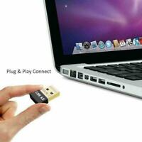 Wireless USB Bluetooth 4.0 Adapter Mini Dongle For PC Vista7/ Laptop Win To D2W9