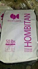 NEW Sachtleben Hombitan AFDC Titanium Dioxide (50 lb. bag) - Chemical, Powder