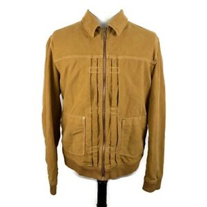 🔴 Levi's Made & Crafted Woven Work Jacket Beige Size 4 US XL