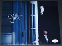 READ! John Carpenter Halloween Michael Myers Signed Autographed Photo JSA COA!
