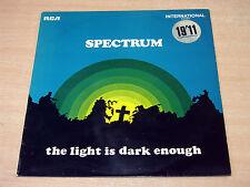 EX-/EX- !! Spectrum/The Light Is Dark Enough/1970 RCA International LP