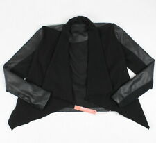 Blank NYC Youth Girls Private Practice Jacket Black XL New