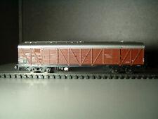 Güterwagen Bromberg 4 achsig mit Geräuschelektronik analog u. digital Minitrix