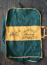 Custom Canvas Hatfield Racing Stables Bag Horse Equipment Duffle Garment