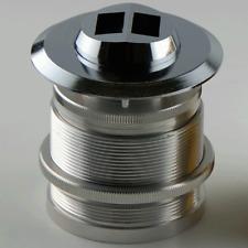 Door Viewer DS238 Metallic Ultra Wide Angle Door Scope - Silver Anodized